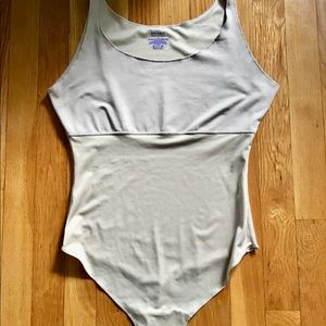 NWOT SPANX thong body suit shapewear size LARGE